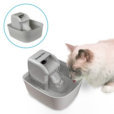 Premier Pet Automatic Pet Fountain for Dogs and Cats - 50oz