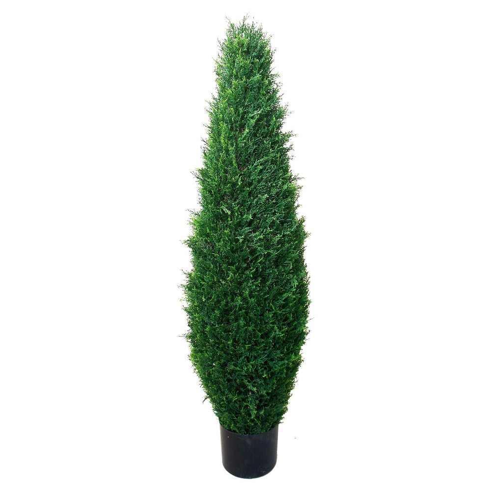 Image of Pure Garden 3.4ft Cypress Artificial Tree