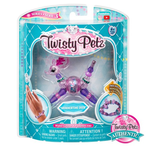 Twisty Petz Series 3 Shimmertime Deer Collectible Bracelet for Kids Aged 4