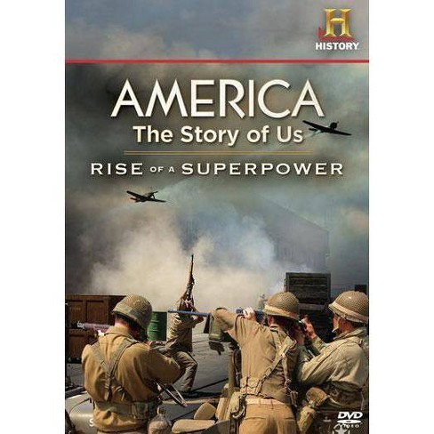 America The Story of Us: Rise of a Superpower (DVD) - image 1 of 1