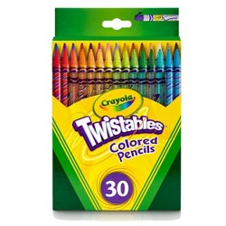 Crayola Twistable Colored Pencils 30ct