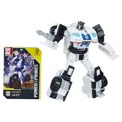Transformers: Generations Power of the Primes Deluxe Class Autobot Jazz - image 1 of 9