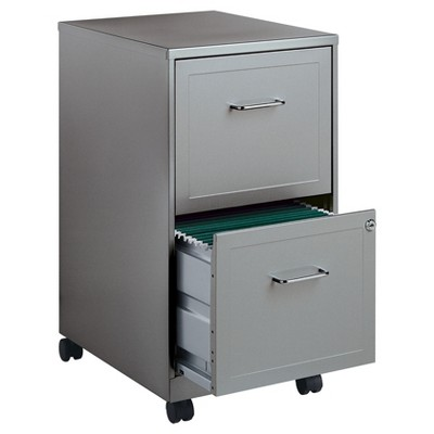 Lorell® Vertical Filing Cabinet, 18 , File/File, Steel - Gray