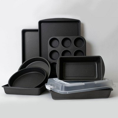 ProBake Nine Piece Bakeware Set