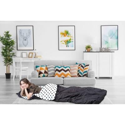Twin XL Nicki Sleeping Bag Black - Chic Home Design