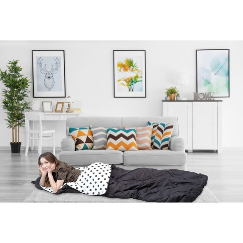 Twin Xl Nicki Sleeping Bag Black Chic Home Design Target