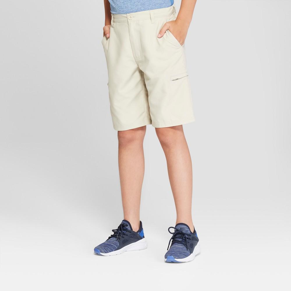Boys' Cargo Golf Shorts - C9 Champion Khaki (Green) S