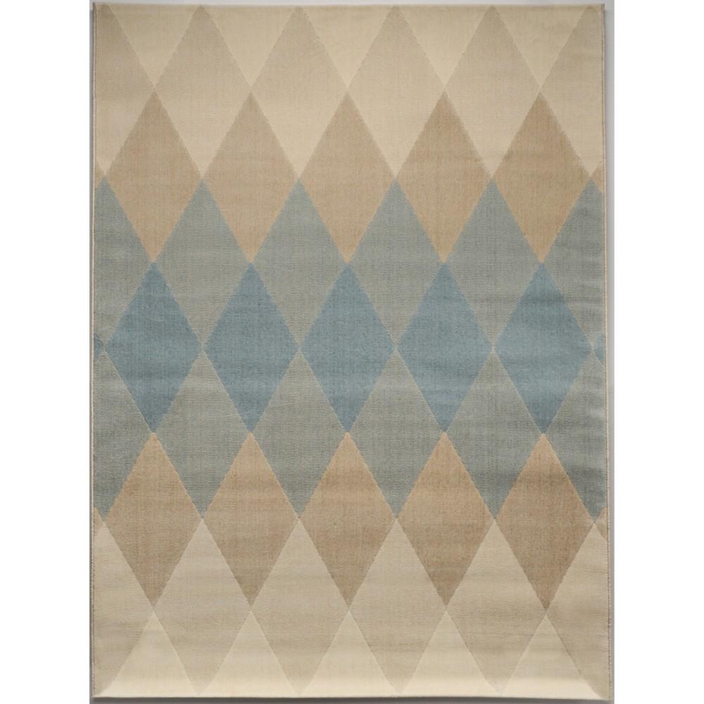 Harlequin Cream Rug (4'x6') - Balta Rugs, Multicolored
