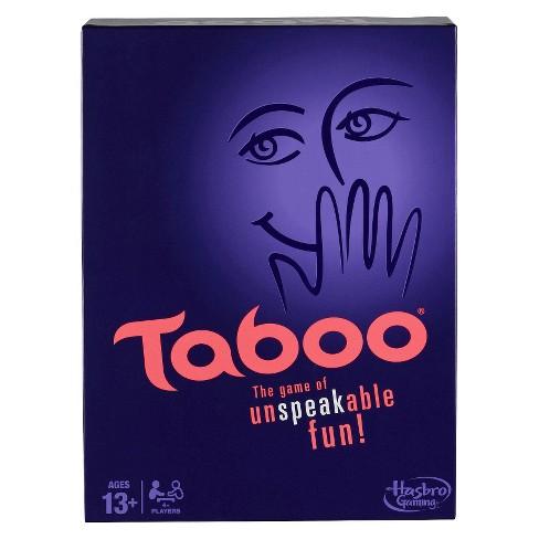Taboo Game Target
