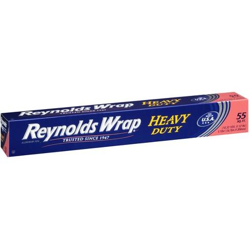 reynolds heavy duty aluminum foil 55sqft target
