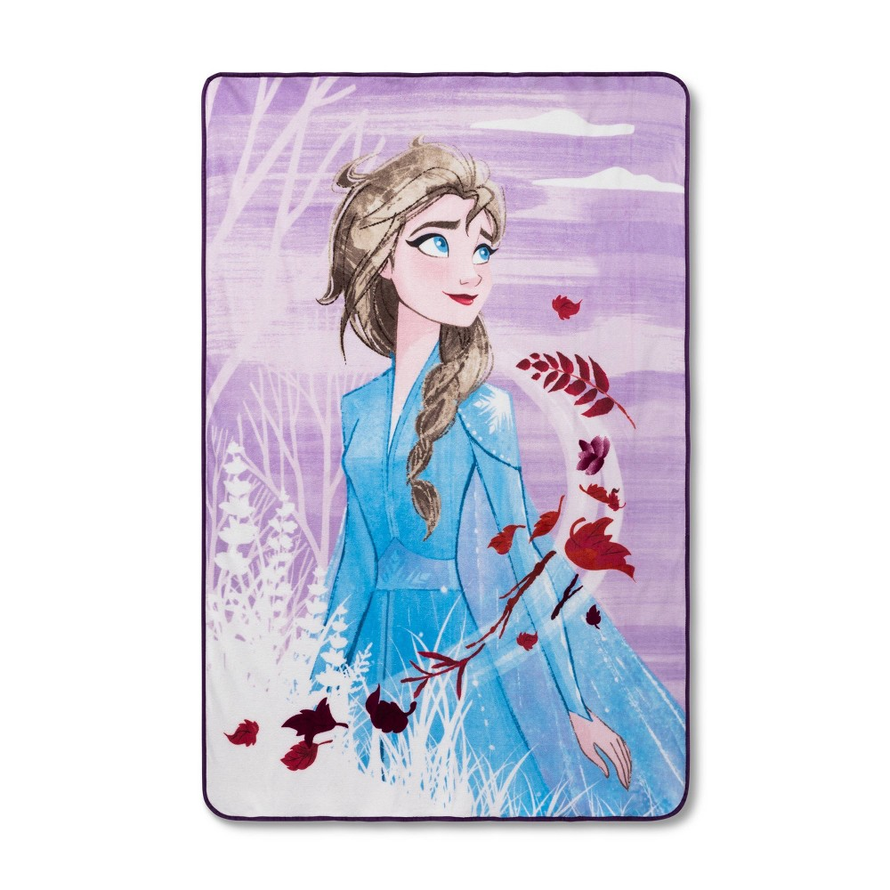 Image of Frozen 2 Full The Overlook Bed Blanket - Disney Store at Target Exclusive