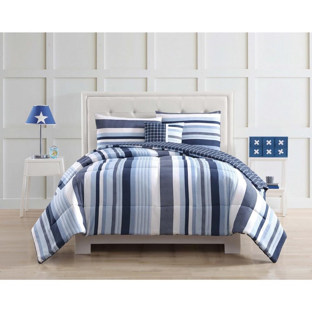 Image of Twin Mason Striped Comforter Set - My World