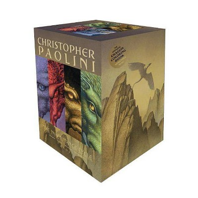 The Inheritance Cycle 4-Book Trade Paperback Boxed Set - by  Christopher Paolini (Mixed Media Product)