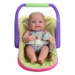 "JC Toys Lots to Love 14"" Baby Doll with Carrier"