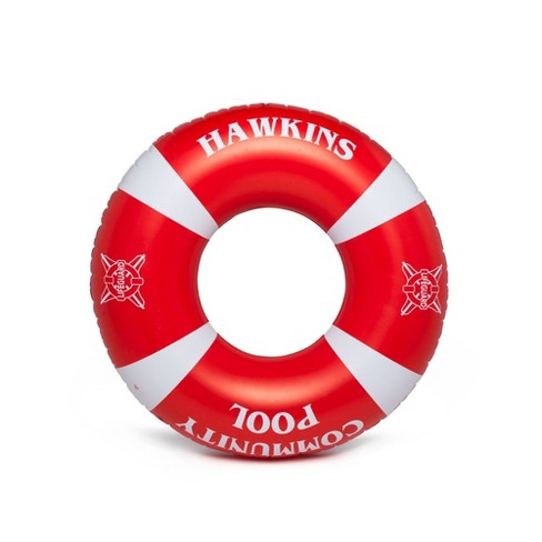 BigMouth Inc. Stranger Things Hawkins Rec Center Lifesaver Pool Float - image 1 of 2