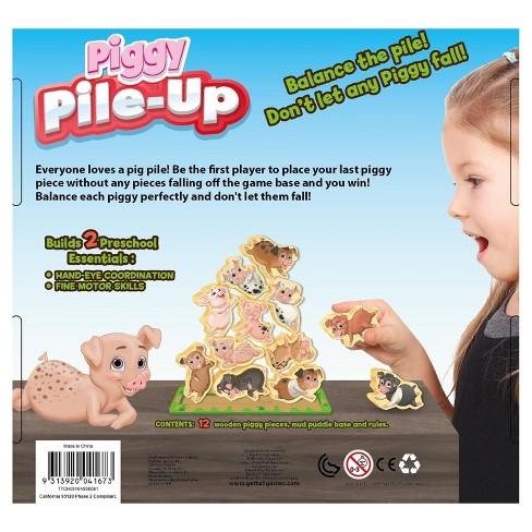 Piggy Pile-Up Board Game