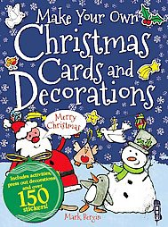 make your own christmas cards and decorations paperback mark bergin target - Target Photo Christmas Cards