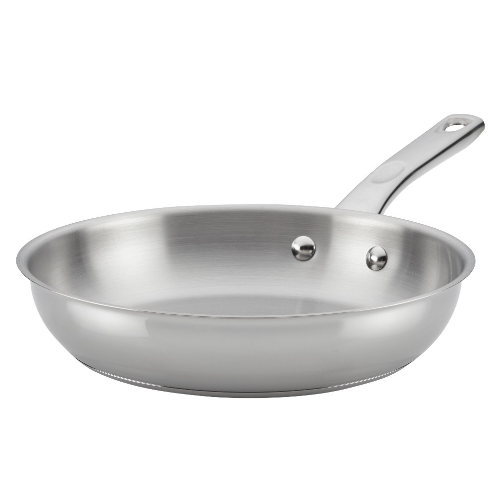 Image of Ayesha Curry 10 Home Collection Stainless Steel (Silver) Skillet
