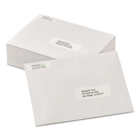 avery return address labels 1 2 x 1 3 4 white 20000 box target