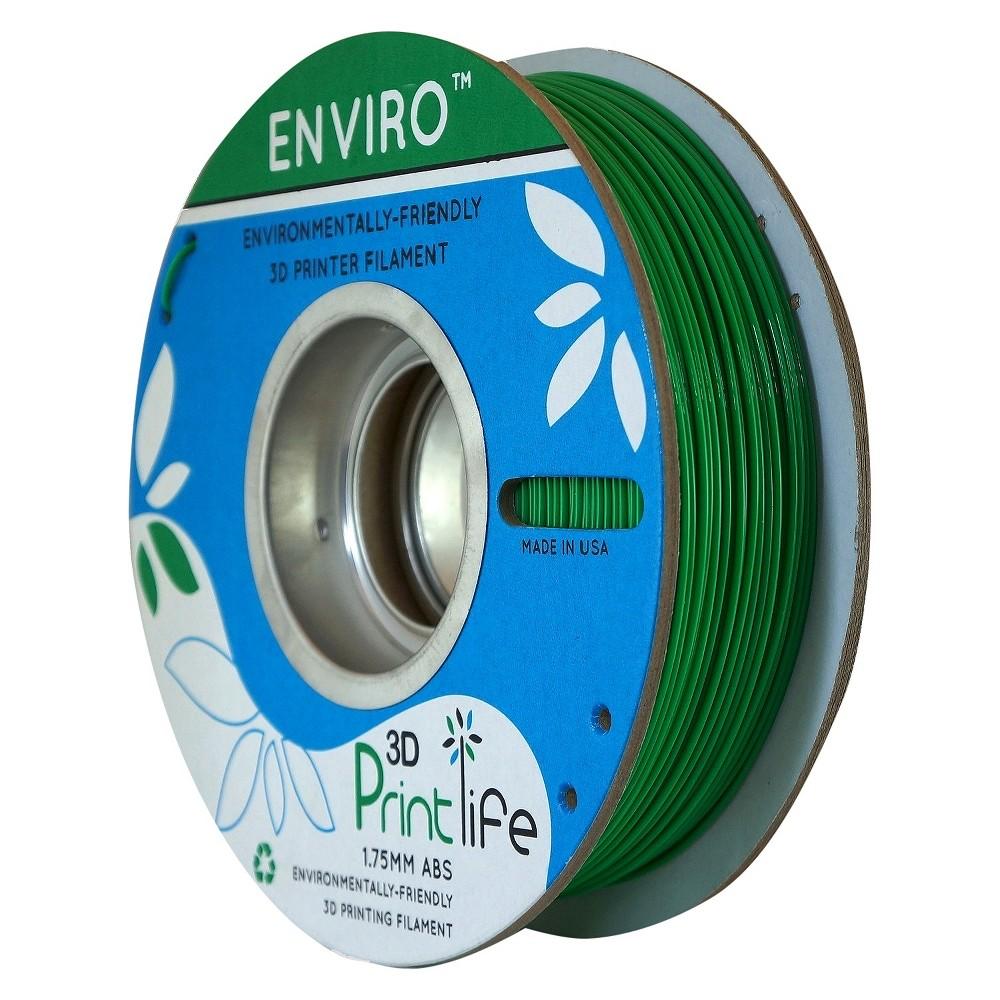 Image of 3D Printlife Enviro Eco-Friendly 1.75mm Premium Abs Filament - Green (8130379)