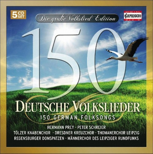Mannerchor des leipz - 150 german folksongs (CD) - image 1 of 1