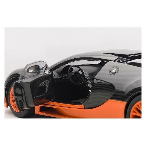 Bugatti Veyron Super Sport Edition Carbon Fiber Target