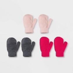 Toddler Boys' 3pk Magic Mittens - Cat & Jack™ One Size