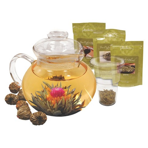 Primula Flowering Tea and Tea Pot Gift Set - image 1 of 1