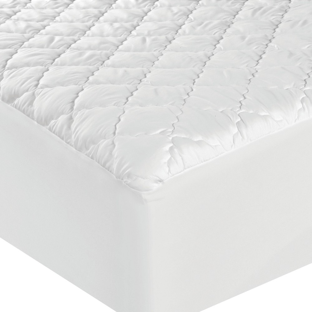 Image of Full Waterproof Mattress Pad White - Sealy