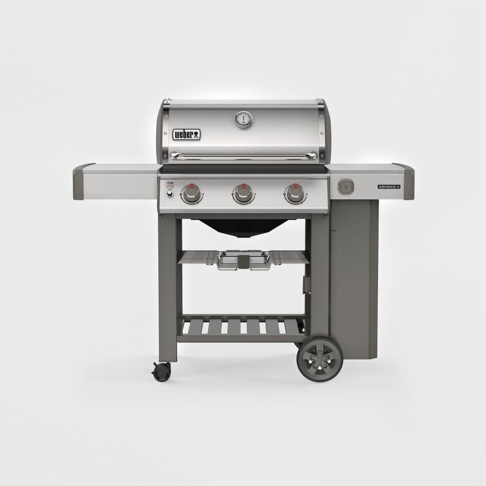 Weber Genesis II S-310 LP 61001001 Stainless Steel (Silver) 53934850