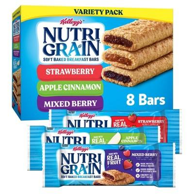 Nutri-Grain Variety Pack Snack Bars - 8ct