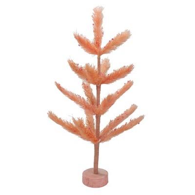 Northlight 2' Unlit Artificial Easter Tree Pastel Pink Sisal Pine
