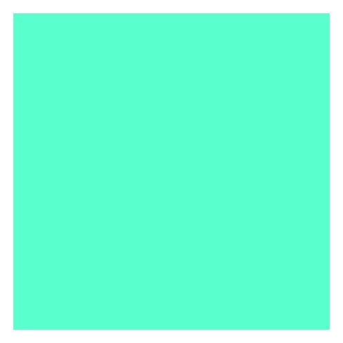 ArtKraft Duo-Finish Paper Roll, 50 lb, 36 Inches x 1000 Feet, Aqua Blue - image 1 of 1