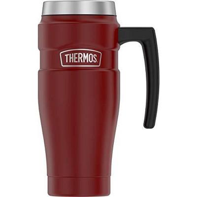 Thermos 16oz Stainless King Travel Mug (SK1000MR4) - Matte Red