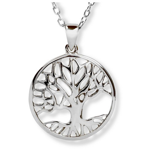 ELYA Stainless Steel Tree of Life Pendant - image 1 of 1