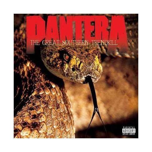 Pantera - Great Southern Trendkill (20th Anniversary) (EXPLICIT LYRICS) (CD) - image 1 of 1