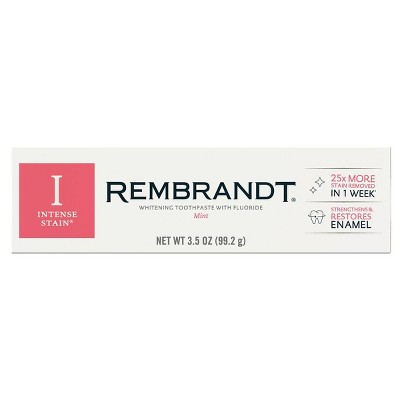 Rembrandt Intense Stain Whitening Toothpaste Mint