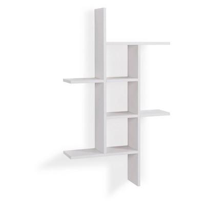 "40"" x 24"" Cantilever Wall Shelf White - Danya B."