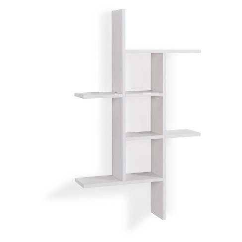 40 X 24 Cantilever Wall Shelf White