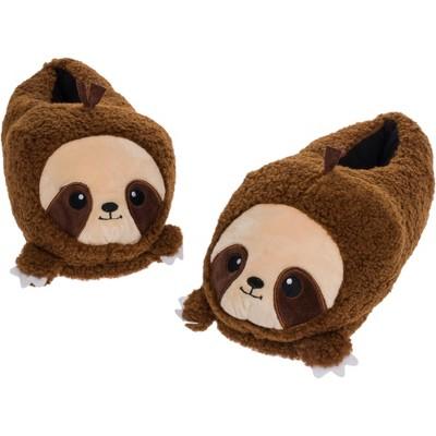 FUNZIEZ! - Women's Sloth Animal Slippers