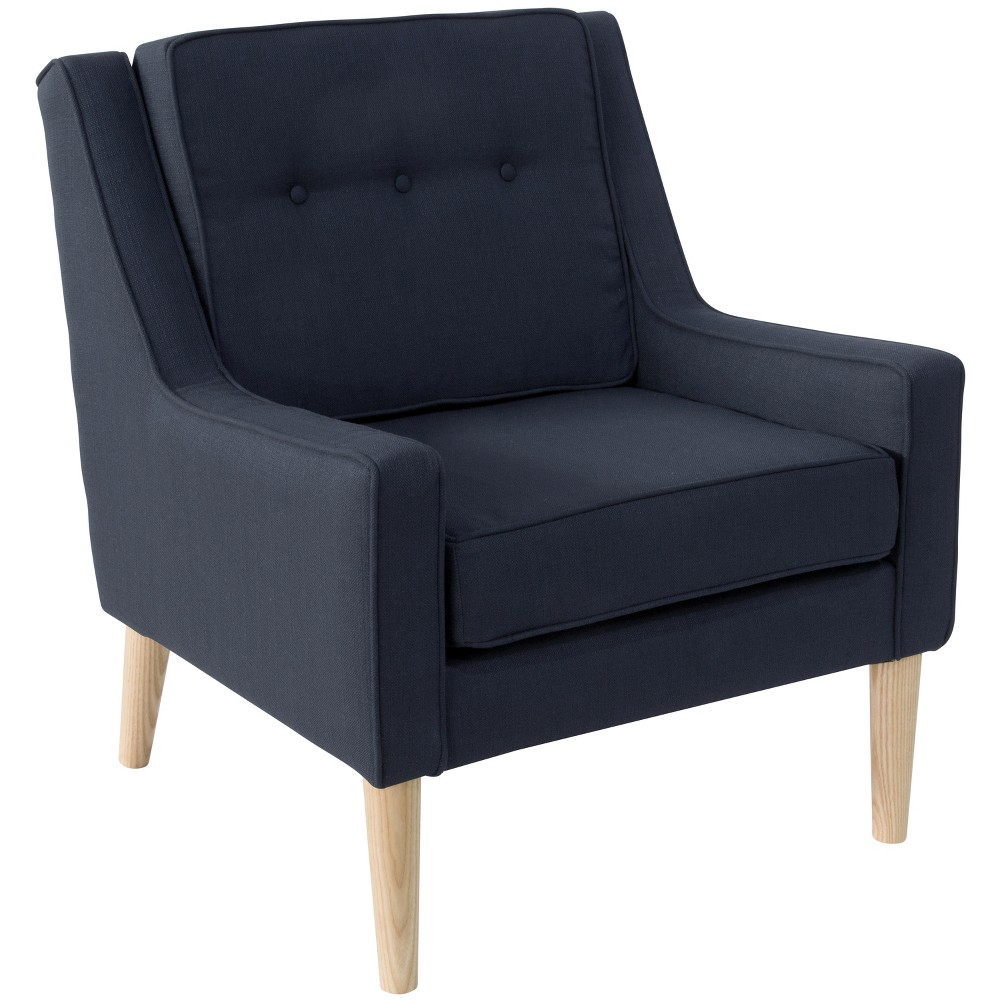 Shyba Button Arm Chair Furniture Skyline Furniture