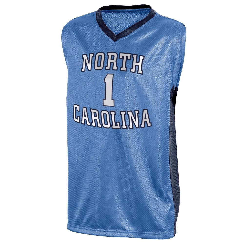 North Carolina Tar Heels Boys' Basketball Jersey S, Multicolored