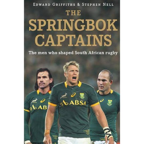 The Springbok Captains - by  Edward Griffiths & Stephen Nell (Paperback) - image 1 of 1