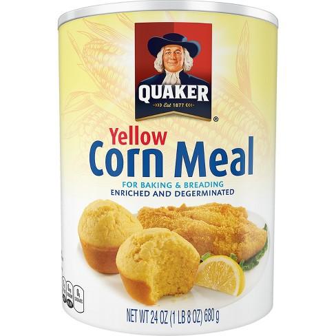 Quaker Yellow Cornmeal - 24oz - image 1 of 3