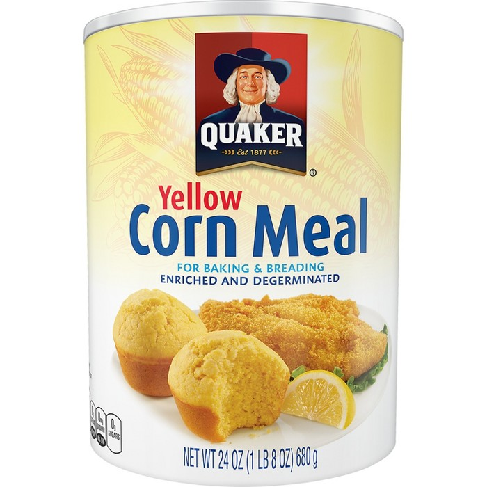 Quaker® Yellow Cornmeal For Baking & Cooking - 24oz - image 1 of 3