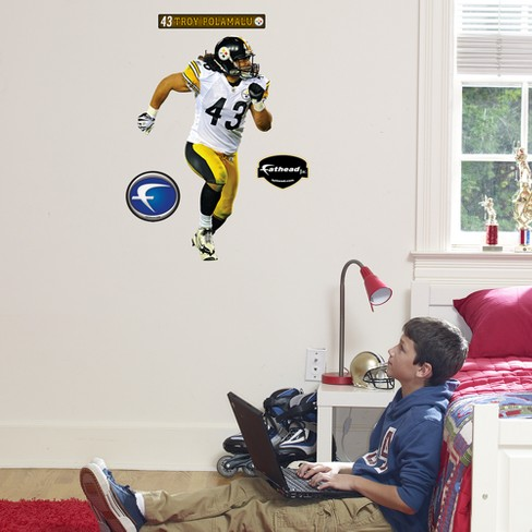Pittsburgh Steelers Troy Polamalu Junior Wall Décor - image 1 of 1