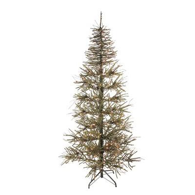Northlight 7' Prelit Artificial Christmas Tree Medium Warsaw Twig - Clear Lights