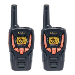 Cobra 25-Mile Walkie Talkies 2 Pk (ACXT345)