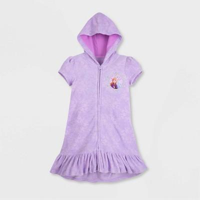 Girls' Disney Frozen 2 Swim Cover Up - Purple - Disney Store