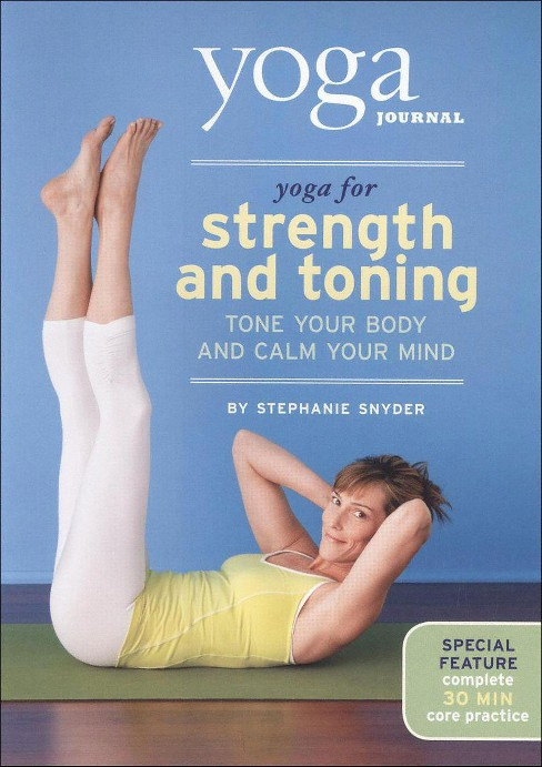 Yoga journal:Yoga for strength and to (DVD) - image 1 of 1
